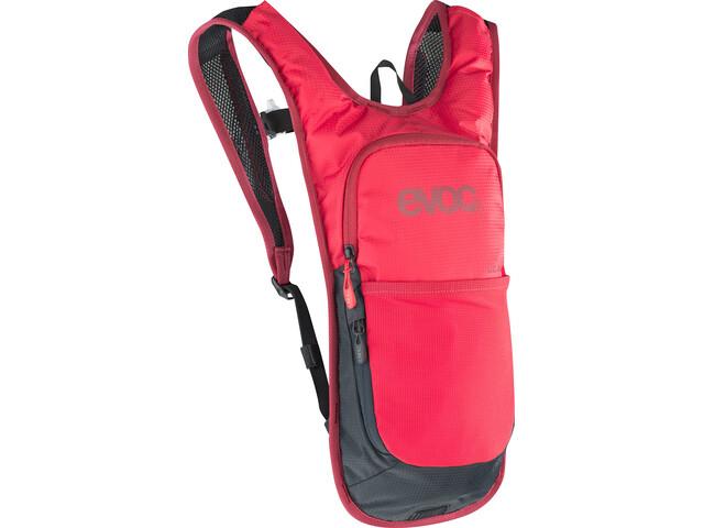EVOC CC Lite Performance Backpack 2l + 2l Bladder, red